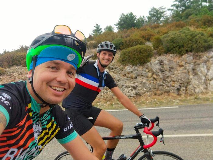 cyclistes ventoux
