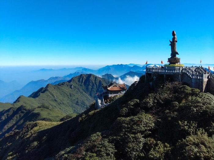 mont fansipan bouddha