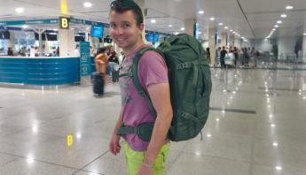 sac vaude voyage Mundo 50 travel