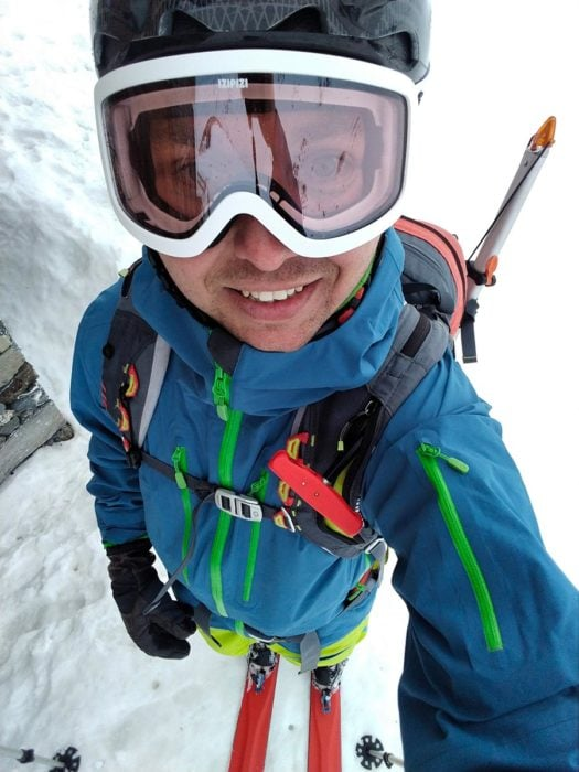 masque catégorie 1 ski de randonnee
