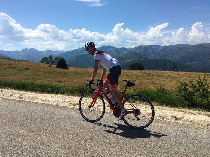 plateau de beille cyclisme traversée pyrenees